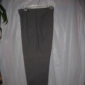Ladies pants, LizWear sz.10, gray checks